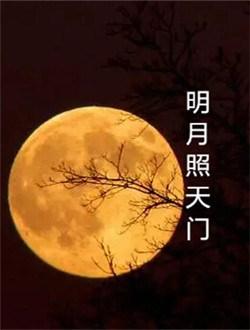 明月照天门